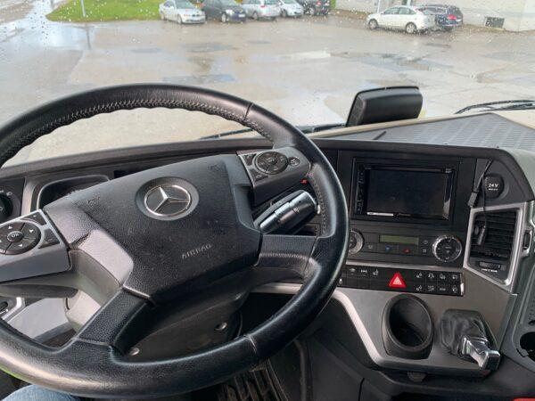 Mercedes Benz Actros 2551 6x2 Hydraulic FULL ADR